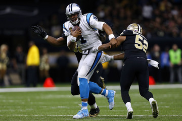Sheldon Rankins Carolina Panthers v New Orleans Saints