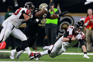 Sheldon Rankins Atlanta Falcons v New Orleans Saints