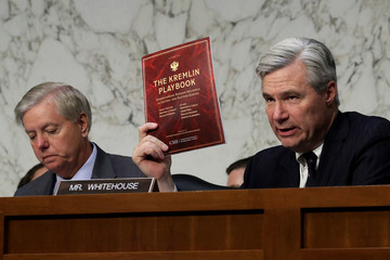 Sheldon Whitehouse Senate Holds Hearing on Russian Interference in the U.S. Election