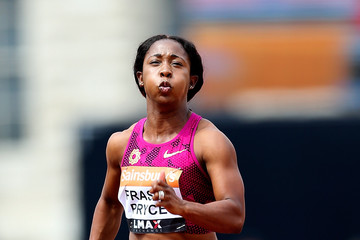 Shelly-Ann Fraser-Pryce Sainsbury's Anniversary Games