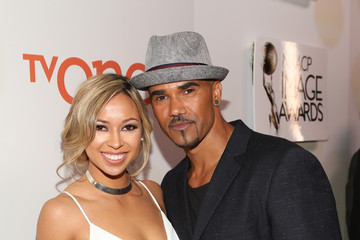 Shawna Gordon and Shemar Moore