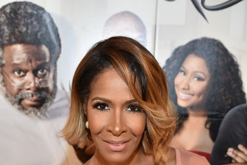 Sheree Whitfield 'Barbershop: The Next Cut' Atlanta VIP Screening With Cast Members Ice Cube And Cedric the Entertainer