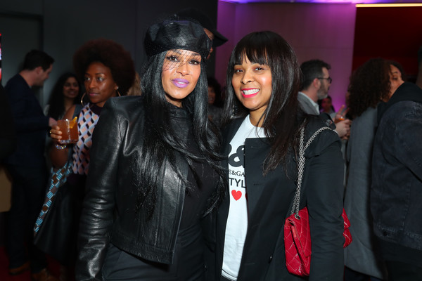 "BET's ""American Soul"" Los Angeles Premiere [event,fashion,youth,fashion design,outerwear,fun,textile,performance,party,fur,mechelle mccain,sheree zampino,american soul,l-r,los angeles,north hollywood,california,bet,premiere,los angeles premiere]"
