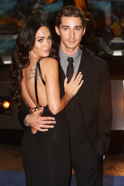 megan fox transformers 2 premiere london. Shia LaBeouf and Megan Fox