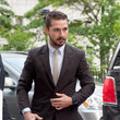 Shia LaBeouf Suits Up for His Court Date