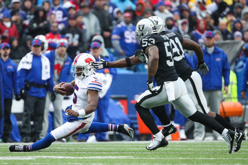 Shilique Calhoun Oakland Raiders v Buffalo Bills