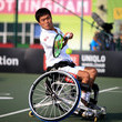 Shingo Kunieda British Open Wheelchair Tennis Championships - Day Three