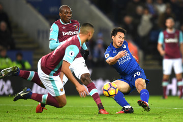 Shinji Okazaki Leicester City v West Ham United - Premier League