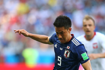 Shinji Okazaki Japan vs. Poland: Group H - 2018 FIFA World Cup Russia