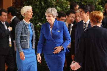 Shinzo Abe G20 Nations Hold Hamburg Summit