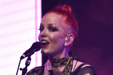 Shirley Manson In the Garden of Bleed'n, a THINX Performance at Feminist Music Festival GIRLSCHOOL