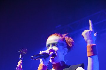 Shirley Manson Garbage (Band) Garbage In Concert - Chicago, IL
