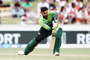 Shoaib Malik New Zealand v Pakistan - 4th ODI