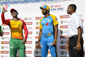 Shoaib Malik Guyana Amazon Warriors vs. St Lucia Stars - 2018 Hero Caribbean Premier League (CPL) Tournament