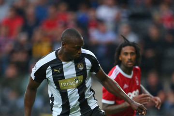 Shola Ameobi Notts County v Nottingham Forest - Pre Season Friendly