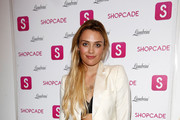 Wallis Day attends the Shopcade London Fashion Week Party on September 14, 2014 in London, England.