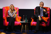 Edith Bowman and Christopher Mcquarrie Photos Photo