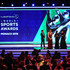 Sean Fitzpatrick Photos - Host James Marsden on stage with the New Laureus Academy Members Missy Franklin,Lorena Ochoa and Luciana Aymar and Laureus Academy Chairman Sean Fitzpatrick.during the 2019 Laureus World Sports Awards on February 18, 2019 in Monaco, Monaco. - Show - 2019 Laureus World Sports Awards - Monaco