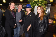 """(L-R) Dolores Rice, Andrew McCarthy, Karen Duffy and guest attend the premiere of the SHOWTIME original comedy series """"HAPPYish"""" on April 20, 2015 in New York City.  Following the screening, SHOWTIME will host a private reception for the show at The Bowery Hotel."""