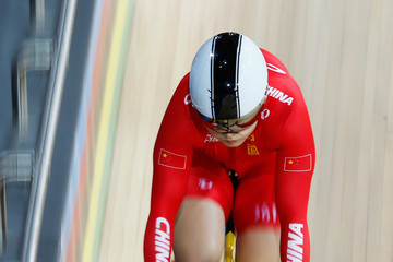 Shuang Guo UCI Track Cycling World Championships: Day 3