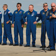 Gregory Johnson Shuttle Endeavour Astronauts Arrive For Monday's Launch