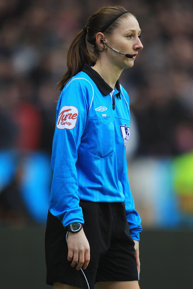 Sian Massey Female assistant referee Sian Massey during the Barclays Premier
