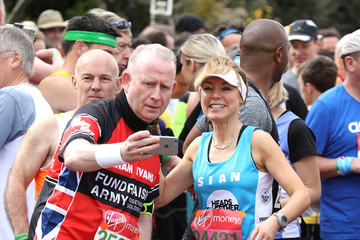 Sian Williams Celebrities Participate in the Virgin London Marathon