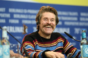 "Willem Dafoe is seen at the ""Siberia"" press conference during the 70th Berlinale International Film Festival Berlin at Grand Hyatt Hotel on February 24, 2020 in Berlin, Germany."