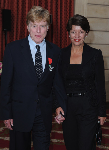 Sibylle Szaggars Pictures - Robert Redford Receives Legion ...