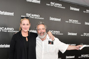 "Amy Sacco and restaurateur Drew Nieporent attend the New York screening of ""Sicario: Day Of The Soldado"" on June 18, 2018 in New York City."