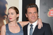 "Actors Emily Blunt and Josh Brolin attend ""Sicario"" New York Premiere at Museum of Modern Art on September 14, 2015 in New York City."