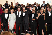 "(L-R) Actors Josh Brolin, Emily Blunt, Benicio Del Toro and director Denis Villeneuve leave the Premiere of ""Sicario"" during the 68th annual Cannes Film Festival on May 19, 2015 in Cannes, France."
