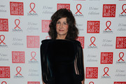 Valerie Lemercier poses as she arrives to attend the Sidaction Gala Dinner 2013 at Pavillon d'Armenonville on January 24, 2013 in Paris, France.