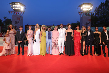 Sienna Miller Kineo Prize Red Carpet Arrivals - The 76th Venice Film Festival