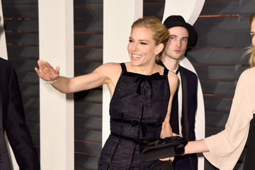 Sienna Miller Tom Sturridge Arrivals at the Elton John AIDS Foundation Oscars Viewing Party — Part 5
