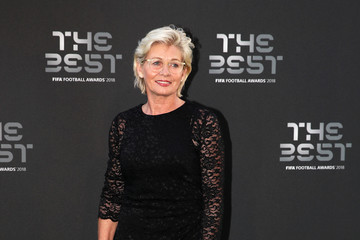 Silvia Neid The Best FIFA Football Awards - Green Carpet Arrivals