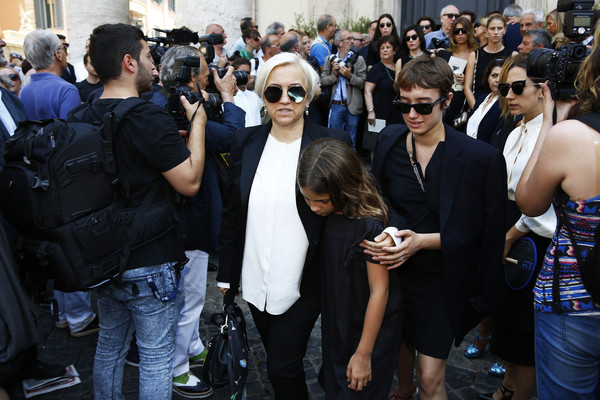 Carla Fendi Funeral Services in Rome