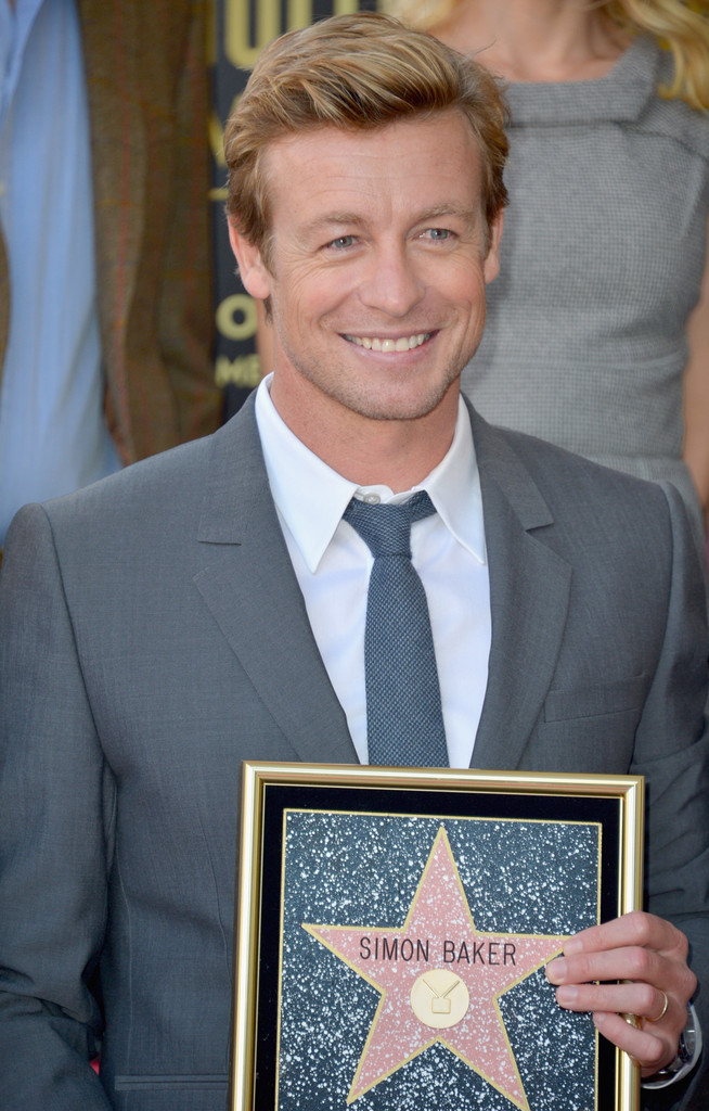 Simon Baker Photos Photos Simon Baker Honored On The