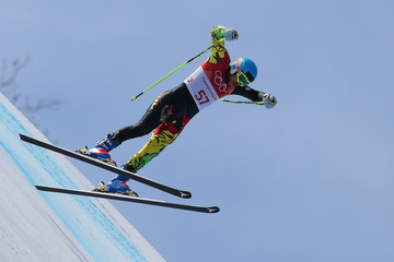 Simon Breitfuss Kammerlander Alpine Skiing: Men's Downhill - Winter Olympics Day 6