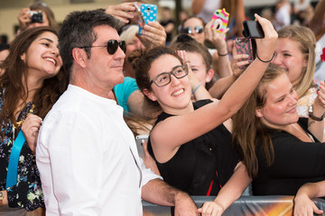 Simon Cowell 'X Factor' London Arena Auditions