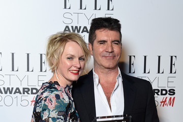 Simon Cowell Elle Style Awards 2015 - Winners Room