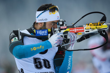 Simon Fourcade BMW IBU World Cup Biathlon Hochfilzen