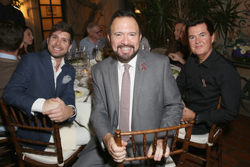 Simon Fuller mothers2mothers and the Elizabeth Taylor AIDS Foundation Benefit Dinner at Ron Burkle's Green Acres Estate