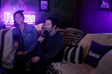 Simon Helberg Rock & Reilly's Daytime Lounge Presented by J.Crew, NYLON and Roku - Day 2