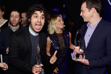 Simon Helberg People's Choice Awards 2016 - Backstage and Audience