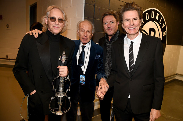 2019 Rock And Roll Hall Of Fame Induction Ceremony - Inside [roxy music,event,award,suit,duran duran,simon le bon,john taylor,eddie jobson,phil manzanera,barclays center,rock roll hall of fame induction ceremony - inside,lr,rock roll hall of fame induction ceremony]