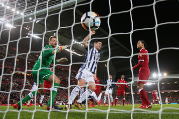 Simon Mignolet Liverpool v West Bromwich Albion - The Emirates FA Cup Fourth Round