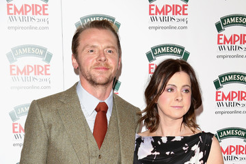 Simon Pegg Jameson Empire Awards 2014 Arrivals