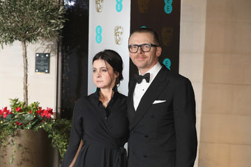 Simon Pegg EE British Academy Film Awards - Official After Party - Arrivals