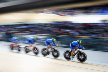 Simona Frapporti UCI Track Cycling World Championships: Day 2